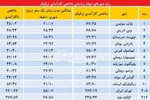 رتبه تهران در وقتکشی مهار «وقتکشی» در معابر پایتخت از 5 مسیر