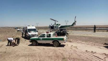15 حادثه ترافیکی در شرق سمنان، یک کشته و25زخمی برجا گذاشت