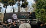 مراسم تشییع پیکر حسین محب اهری با حضور هنرمندان+ تصاویر