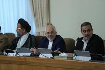 ظریف: همه تلاش ما این بوده که وزارت امورخارجه باری از دوش مردم بردارد
