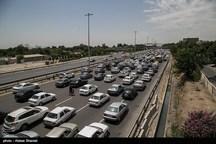 آزادراه های قزوین با ترافیک سنگین روبرو است