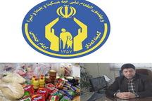 400 سبد غذایی بین مددجویان کمیته امداد در کاشان توزیع شد
