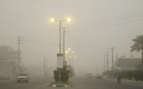 کشور غبارآلود میشود