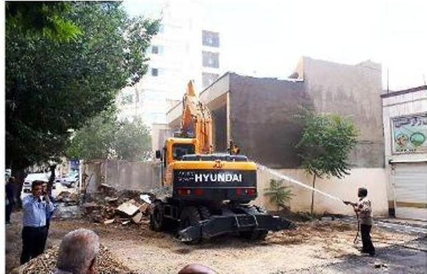 خیابان سعیدیه شمالی پس از 20 سال بازگشایی شد