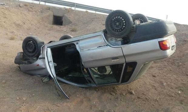 واژگونی پراید در مسیر امیدیه - ماهشهر یک کشته برجای گذاشت