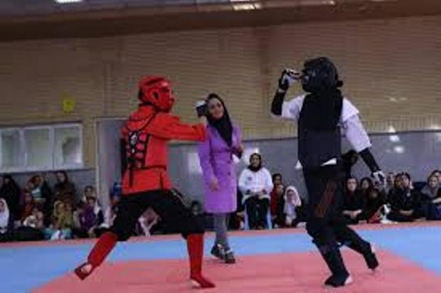 تیم کونگ فو دختران گیلان به مسابقات قهرمانی کشور اعزام شد