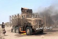 نیروهای ائتلاف عربستان در یکی از شهرهای یمن به محاصره انصار الله درآمدند