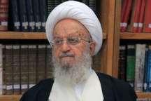 آیت الله مکارم شیرازی: ملت ایران تا ریشه گروه جنایتکار تکفیری را نکند از پای نخواهد نشست