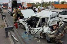 تصادف کامیون و پراید ۱۰ کشته و مصدوم به جا گذاشت
