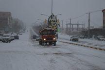 مسدود شدن راه 120 روستا در هشترود