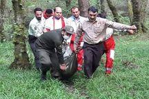مرگ جوان اصفهانی در جنگل های گیسوم تالش