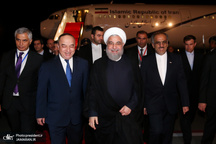 روحانی وارد پایتخت تاجیکستان شد