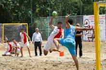 تیم ملی هندبال ساحلی کشورمان در بندرعباس اردو می زند