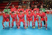 تیم فوتسال گیتی پسند ارژن شیراز را شکست داد