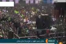 روحانی : آمریکا بداند اگر روزی بخواهد جلوی فروش نفت ایران بگیرد نفتی از خلیج فارس خارج نخواهد شد