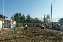 لیگ والیبال ساحلی  ششمین برد ورزشکاران گلستانی