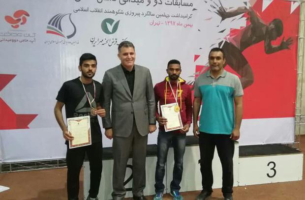 دوندگان سیستان و بلوچستان 2 مدال کشوری را به گردن آویختند