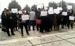 اعتراض دانشجویان دانشگاه شهید بهشتی به مشکلات آموزشی + عکس