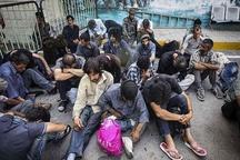 531معتاد متجاهر در کرج جمع آوری شدند