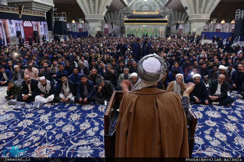 ادای احترام رییس شورای عالی صلح افغانستان نسبت به بنیانگذار جمهوری اسلامی ایران