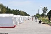 اردوگاه های اسکان سیل زدگان درخوزستان به سه پایگاه کاهش یافت