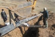 کلنگ عملیات گازرسانی به چهار روستای سلسله به زمین زده شد