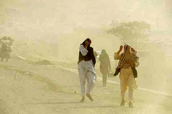 مراجعه 243 نفر به بیمارستان در پی طوفان سیستان و بلوچستان