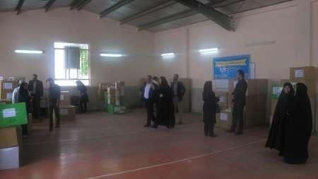 توزیع تجهیزات تخصصی آموزشی - توانبخشی در مدارس استثنایی البرز