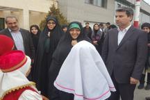 معاون رئیس جمهوری در امور زنان و خانواده وارد ارومیه شد