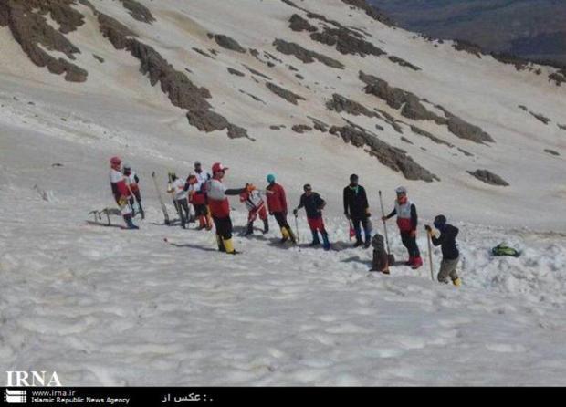 کوهنوردان گم شده در ارتفاعات اسفراین پیدا شدند