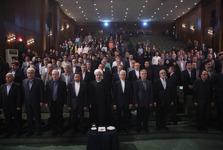 حضور رئیس جمهور در دانشگاه تهران+ عکس