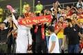 حاشیه نگاری ایرنا از دیدار تیم های فوتبال صنعت نفت آبادان و فولاد خوزستان