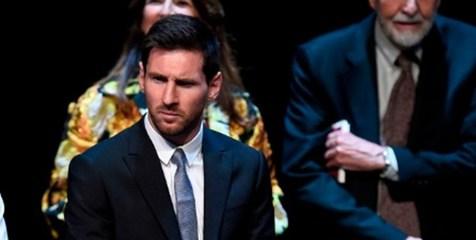 جایزه ویژه ایالت کاتالونیا برای مسی + تصاویر