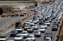افزایش 26 درصدی تردد خودروهای مسافران نوروزی در جاده های همدان