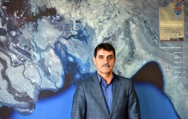 بارگیری نخستین محموله صادراتی گندم در بندر امام خمینی