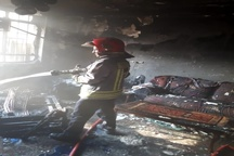 آتش سوزی یک منزل مسکونی در کیانپارس اهواز  حادثه صدمات جانی نداشت