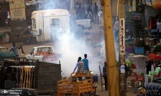 ادامه اعتراضات خشونت آمیز به گرانی در سودان+ تصاویر