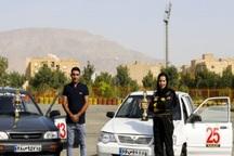 اتومبیلرانان رفسنجانی در مسابقات کشوری خوش درخشیدند