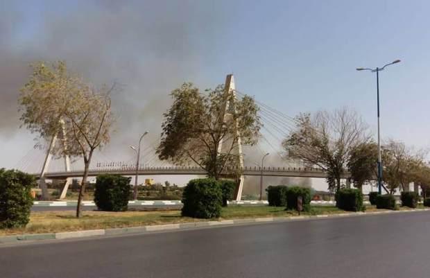 60 درصد زیستگاه های خشکی خوزستان مستعد آتش سوزی هستند
