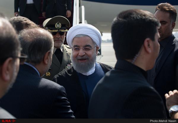 رئیسجمهور وارد مازندران شد