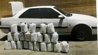 انهدام باند توزیع مواد مخدر در گلستان  کشف ۲۲۴ کیلوگرم تریاک از خودروی پژو