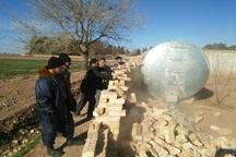 تخریب ساخت و سازهای غیرمجاز در شهر تاریخی نیشابور