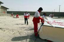 143 سیل زده سیستان و بلوچستان اسکان اضطراری داده شدند