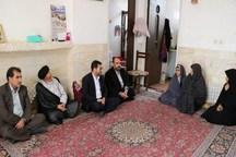 134 خانواده شهدا و ایثارگران یزد تجلیل شدند