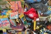 کشف هشت هزارعدد انواع مواد محترقه غیرمجاز در بویین زهرا