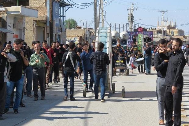 شهرهای شمال خوزستان در رحلت پیامبراکرم(ص) غرق در عزا شدند