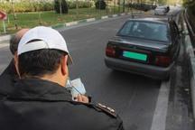 طرح برخورد با پلاک های کثیف خودرو در همدان آغاز شد