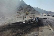 تصادف در مسیر ایرانشهر - سرباز سه کشته و 24 مجروح برجا گذاشت