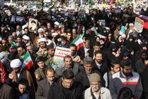 تجدید بیعت مردم قم با آرمان های امام راحل در جشن تولد 39 سالگی انقلاب