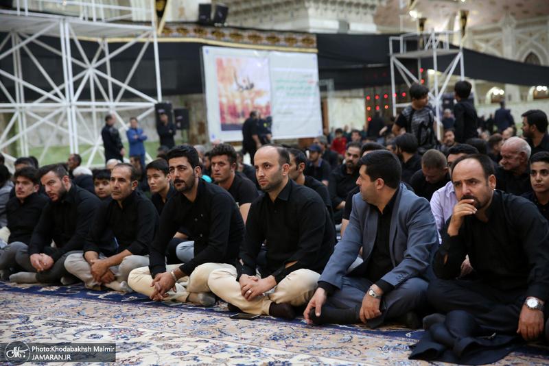 عزاداری شب هشتم ماه محرم در حرم امام خمینی(س)